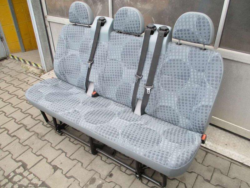 ford transit sitz sitze hintere sitzreihe 3er r ckbank. Black Bedroom Furniture Sets. Home Design Ideas
