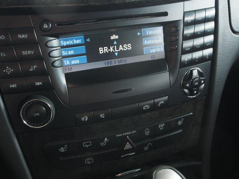 mercedes w211 e klasse navi navigation radio cd autoradio. Black Bedroom Furniture Sets. Home Design Ideas