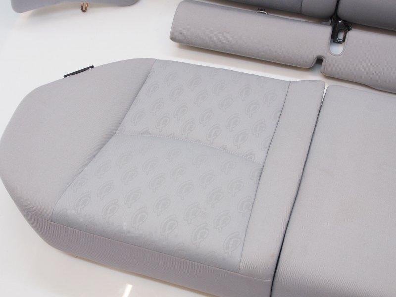 mercedes w203 c klasse kombi r cksitzbank r ckbank sitzbank stoff grau bj 2004. Black Bedroom Furniture Sets. Home Design Ideas