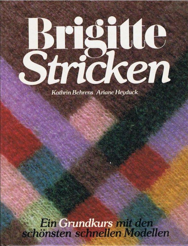 Brigitte stricken grundkurs 1982 kaufen bei for Brigitte versand deutschland