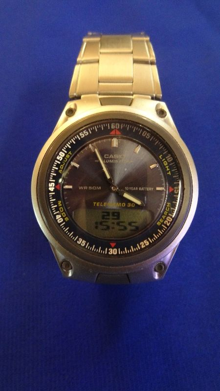 casio telememo 30 world time instructions