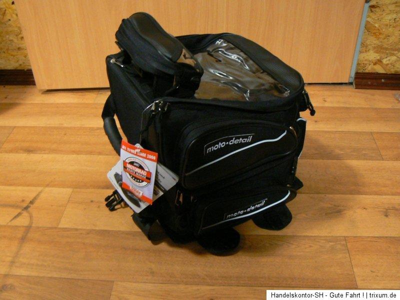 moto detail multi plus tankrucksack hecktasche 2x rucksack. Black Bedroom Furniture Sets. Home Design Ideas