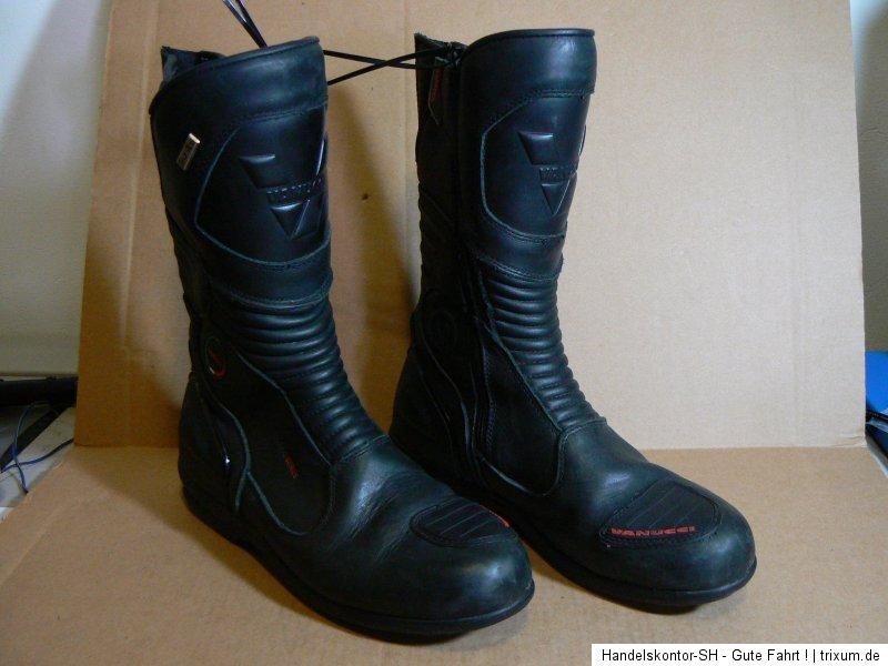 vanucci vtb2 motorrad stiefel boots gr 45 echtleder. Black Bedroom Furniture Sets. Home Design Ideas