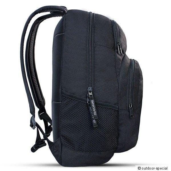 dakine rucksack central 26 liter schulrucksack schwarz. Black Bedroom Furniture Sets. Home Design Ideas
