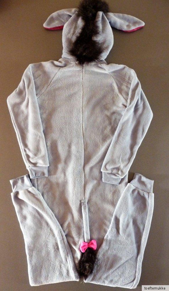 neu disney i aah esel damen onesie fleece jumpsuit pyjama. Black Bedroom Furniture Sets. Home Design Ideas