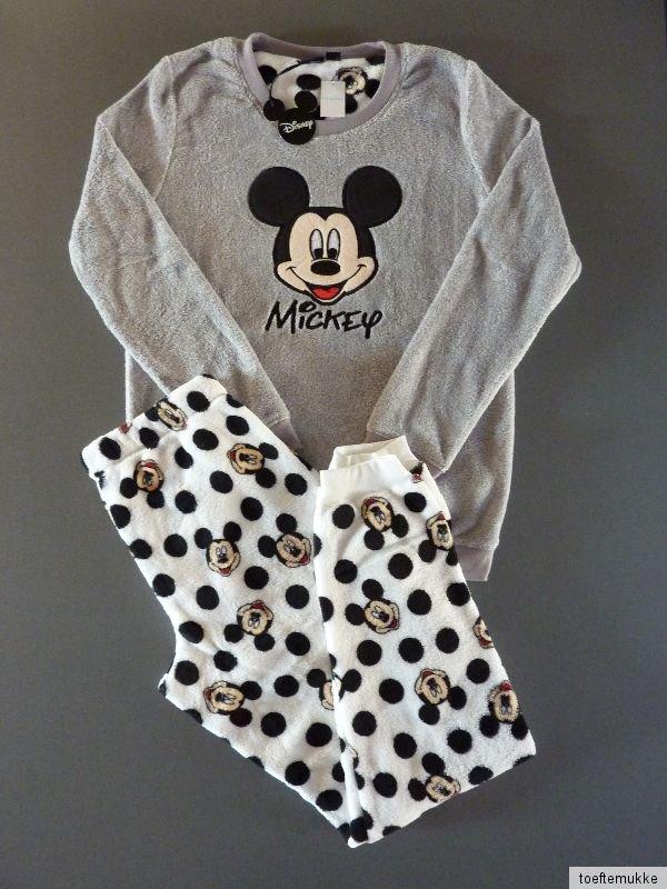 neu primark disney mickey maus mouse fleece pyjama. Black Bedroom Furniture Sets. Home Design Ideas