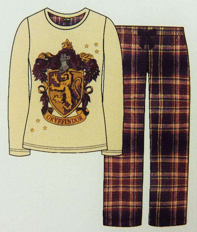 neu primark harry potter gryffindor pyjama schlafanzug hausanzug xs l kariert. Black Bedroom Furniture Sets. Home Design Ideas
