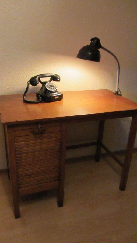 soennecken sekret r rolladen schreibtisch 39 40er jahre bauhaus design schl ssel ebay. Black Bedroom Furniture Sets. Home Design Ideas