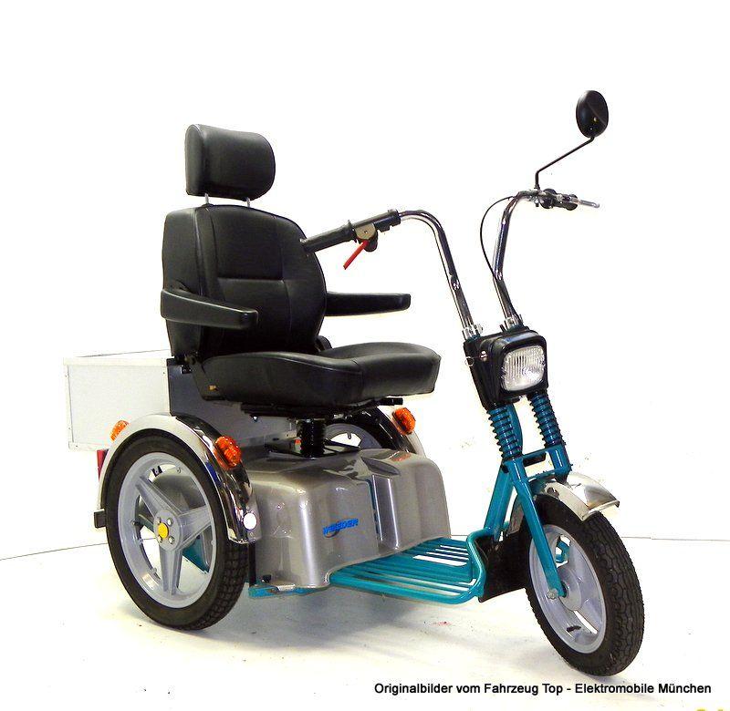weileder sportster bj 2007 elektromobil 15 km h gebraucht. Black Bedroom Furniture Sets. Home Design Ideas