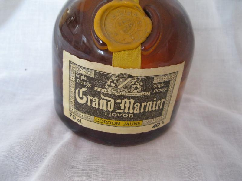 Alte flasche grand marnier lapostolle 40 0 7 l liqueur for Grand marnier cordon jaune aldi