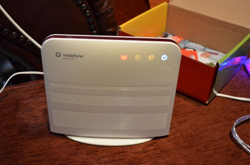 vodafone dsl easybox 803 ebay. Black Bedroom Furniture Sets. Home Design Ideas