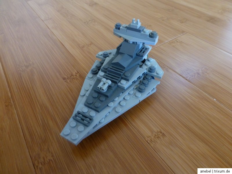 how to make a mini star destroyer lego