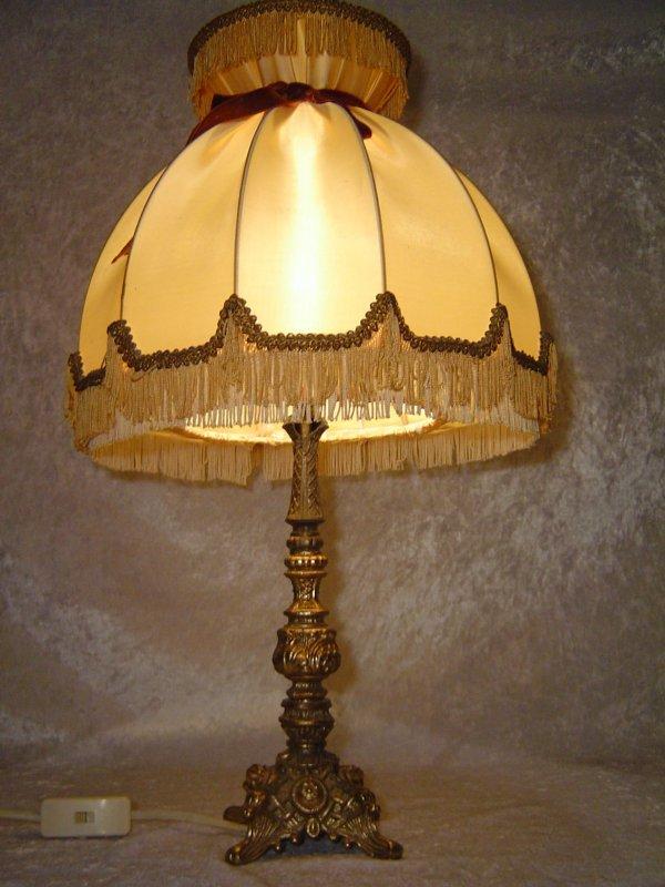 50er jahre messing tisch lampe schreibtisch lampen banker for Lampen tisch