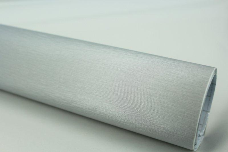 10 m autofolie aluminium geb rstet silber klebefolie dehnbar luftkanalkleber. Black Bedroom Furniture Sets. Home Design Ideas