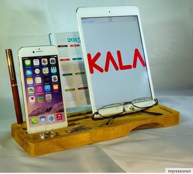 b ro handy tablett smartphone st nder holz natur sound. Black Bedroom Furniture Sets. Home Design Ideas