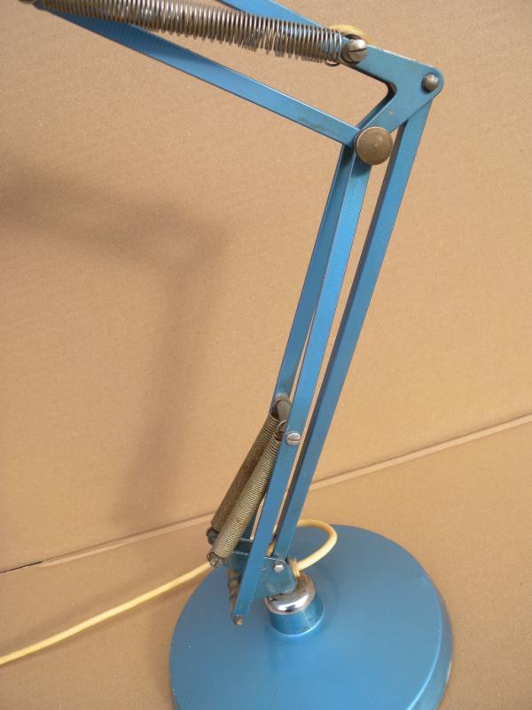 50er luxo l2 jacob jacobsen lampe architektenlampe schreibtischlampe table lamp ebay. Black Bedroom Furniture Sets. Home Design Ideas