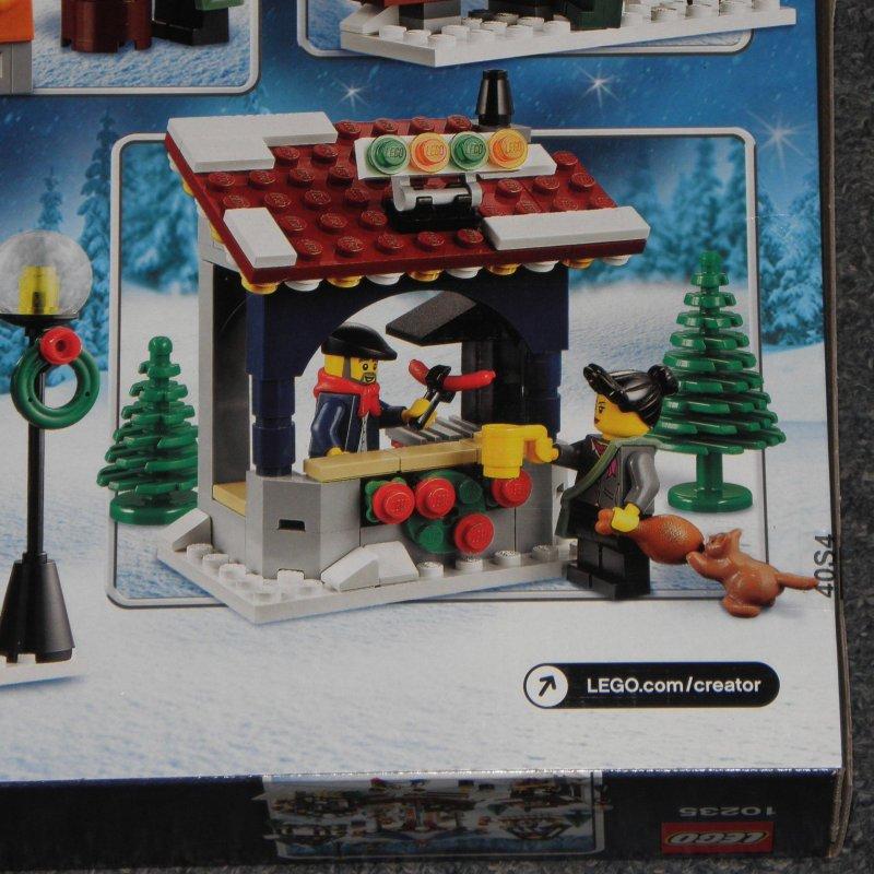 neu lego creator 10235 winterlicher markt weihnachtsmarkt weihnachten neu ebay. Black Bedroom Furniture Sets. Home Design Ideas