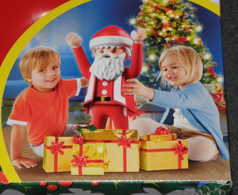 weihnachtsmann xxl playmobil figur 65 cm drinnen u. Black Bedroom Furniture Sets. Home Design Ideas