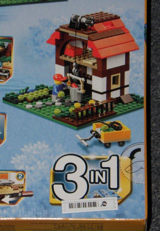 neu lego creator 31010 baumhaus umbaubar zur h tte am see oder bauernhof scheune ebay. Black Bedroom Furniture Sets. Home Design Ideas