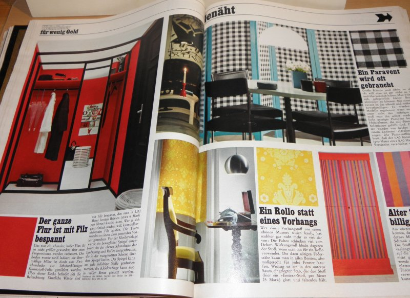 alte zeitschrift sch ner wohnen heft 3 m rz 1967 wohnung. Black Bedroom Furniture Sets. Home Design Ideas