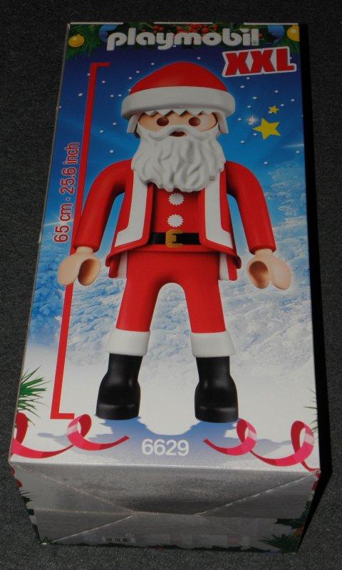 weihnachtsmann xxl playmobil figur 65 cm drinnen u drau en weihnachten deko neu ebay. Black Bedroom Furniture Sets. Home Design Ideas