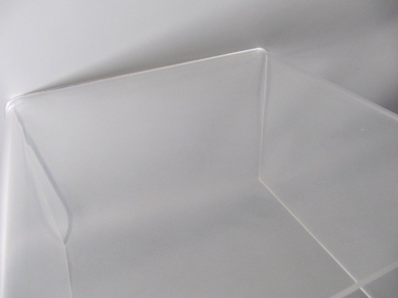 70er jahre kleiner plexiglas tisch beistelltisch small for Beistelltisch plexiglas