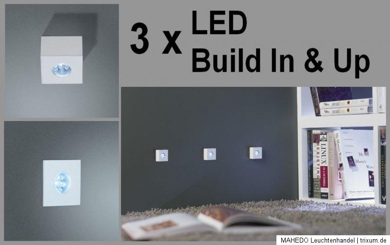 Set-LED-Aufbauleuchte-Unterbauleuchte-Einbau-Aufbau-Unterbau-MONTICELLO-weiss
