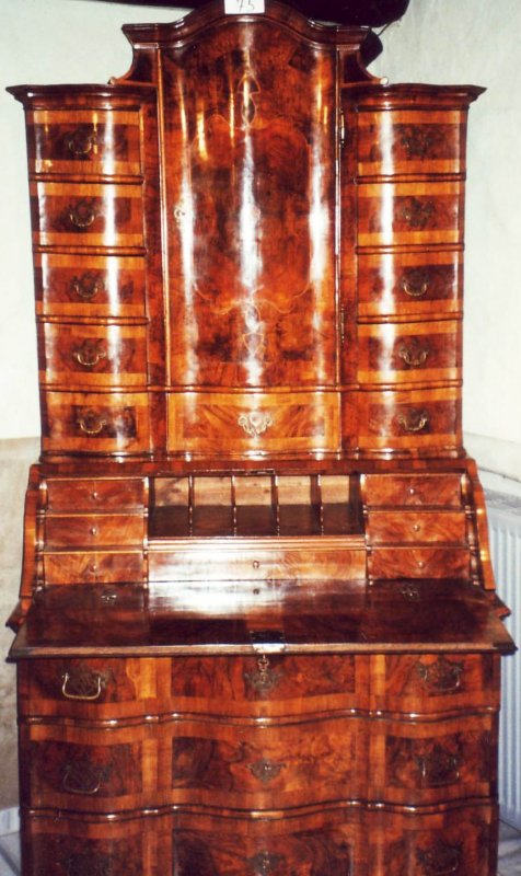 barock tabernakel sekret r schrank tabernacle secretary. Black Bedroom Furniture Sets. Home Design Ideas