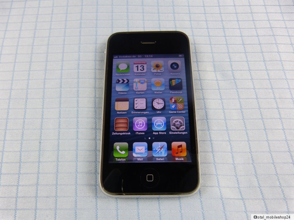 Apple Iphone Gs  Gb Schwarz T Mobile