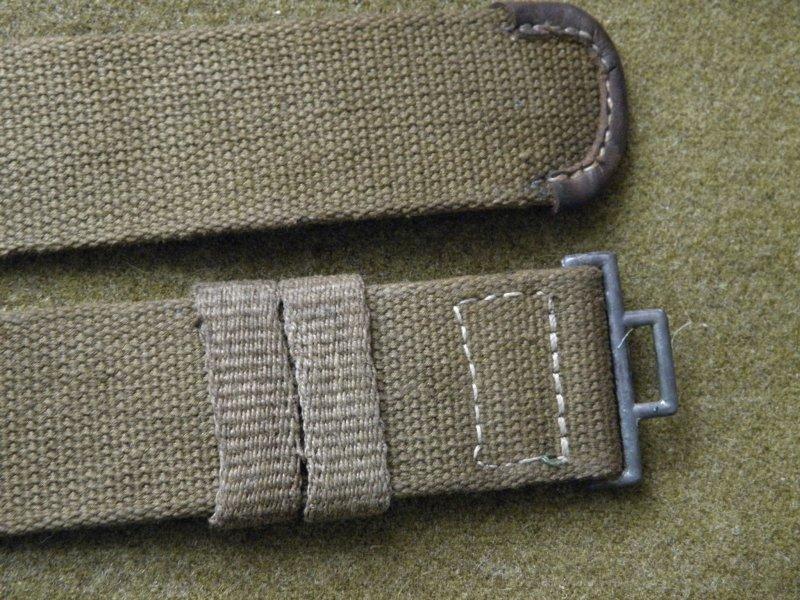 Wehrmacht Elite Lw Dak Afrika Tropen Leinen Koppel