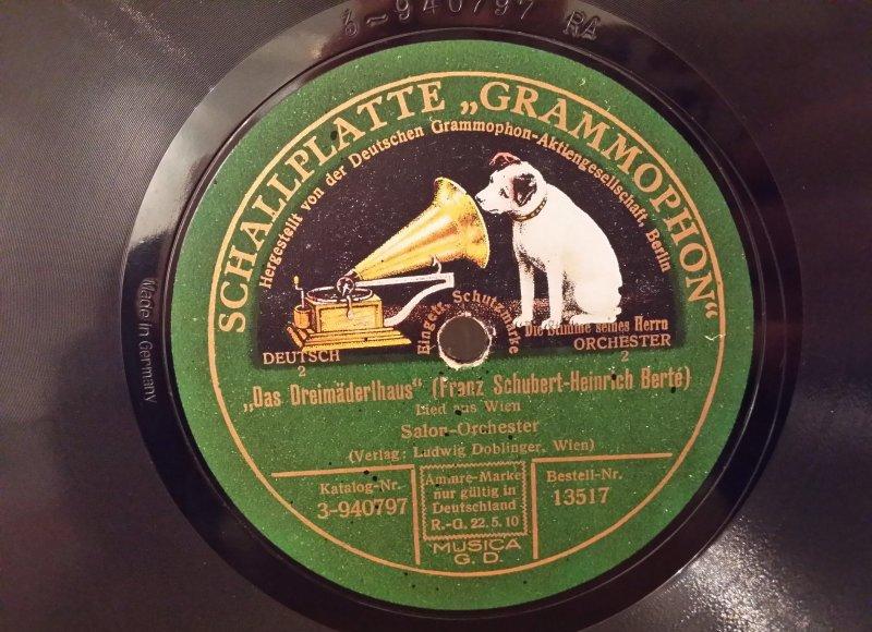 Das Dreim Derlhaus Franz Schubert Heinrich Berte