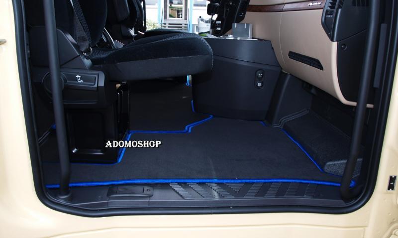 LKW Passform Fußmatten für MERCEDES ACTROS MP4 LKW TEPPICH