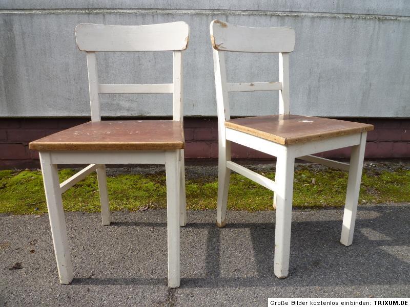 Küchenstühle alter Stuhl Küchenstuhl Frankfurter Küche weiss