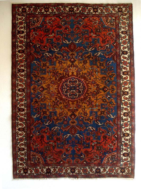 Antiker Perser Teppich handgeknüpft aus Persien 200x140cm