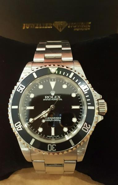 rolex submariner 14060 stahl box rechnung ebay. Black Bedroom Furniture Sets. Home Design Ideas