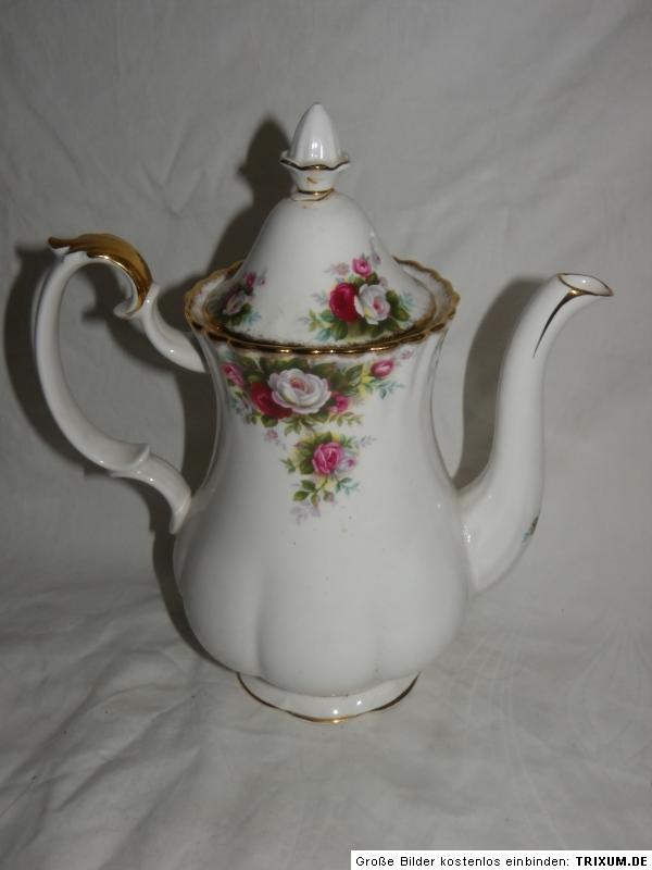 royal albert kaffeekanne celebration porzellan bone china england ebay. Black Bedroom Furniture Sets. Home Design Ideas