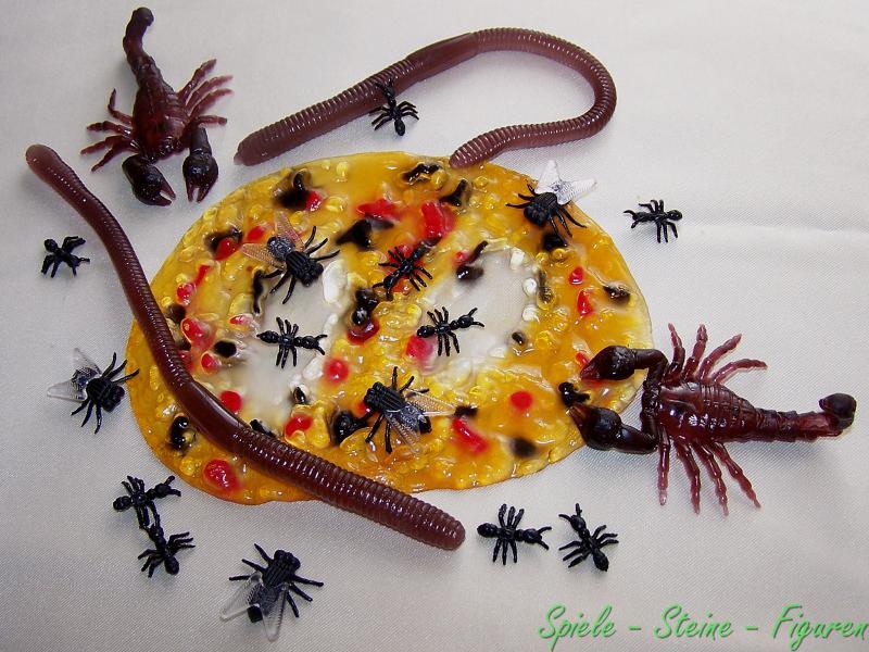 scherzartikel erbrochenes tiere scorpion regen w rmer fliegen ameisen kotze ebay. Black Bedroom Furniture Sets. Home Design Ideas
