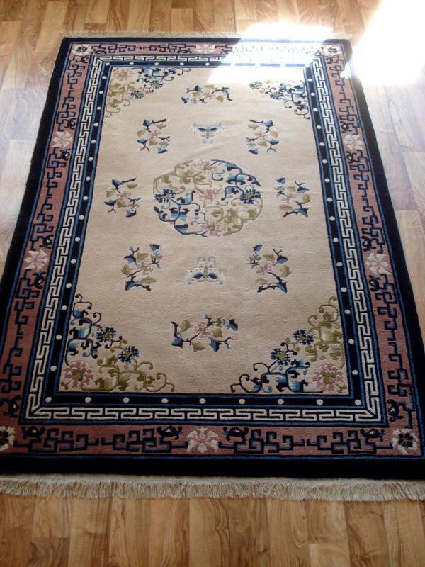 Handgeknüpfter Teppich aus China Gute Qualität, bitte