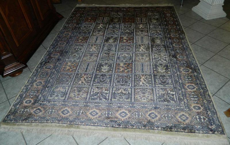 Teppich Pakistan Wolle mit Seide Knoten 420000 pro qm