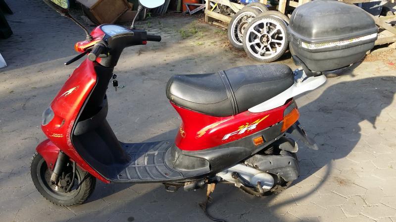 Piaggio Zip Fast Rider 50kmh Papiere Originalzustand F R
