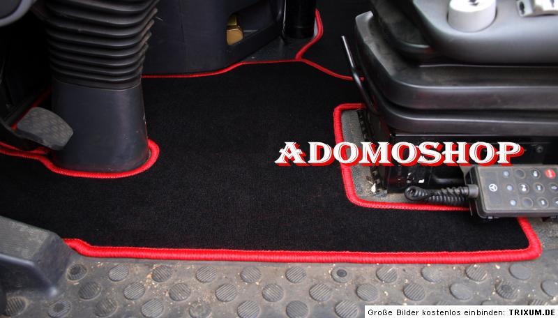LKW Passform Fußmatten für MERCEDES ACTROS MP23 LKW TEPPICH