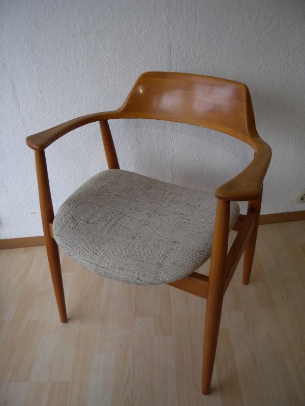 50er wilkhahn armlehnstuhl design hartmut lohmeyer chair for Stuhl design 50er