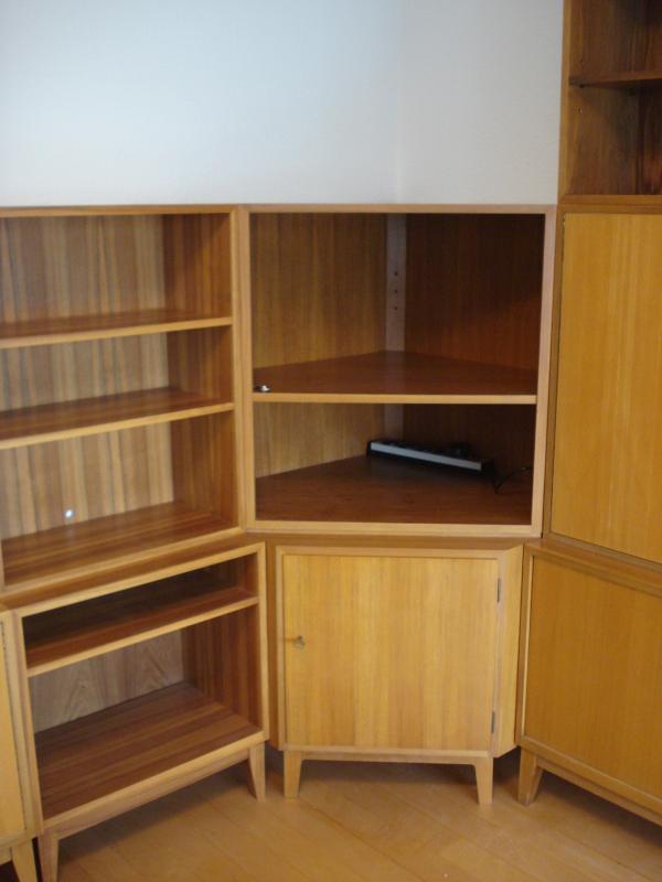 riesige wk m bel wohnwand sideboard georg satink 1962. Black Bedroom Furniture Sets. Home Design Ideas