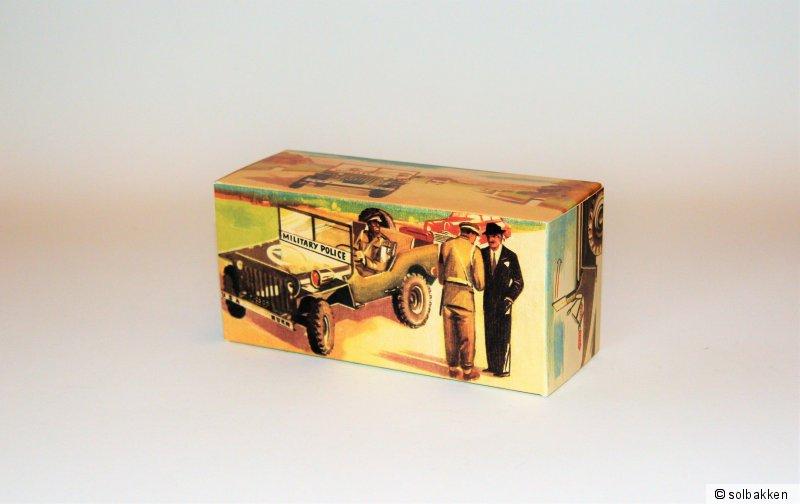 """Repro-Karton für Arnold /""""Willys Jeep/"""" Nr 2500"""
