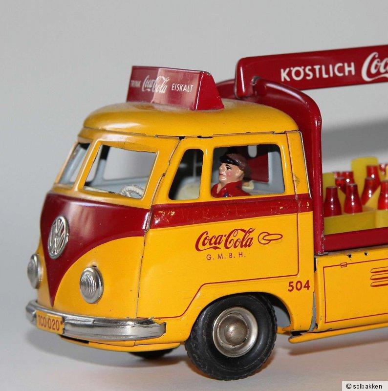 """Ladefläche für Tippco VW-Bus /""""Coca-Cola/"""" Seitenteil"""