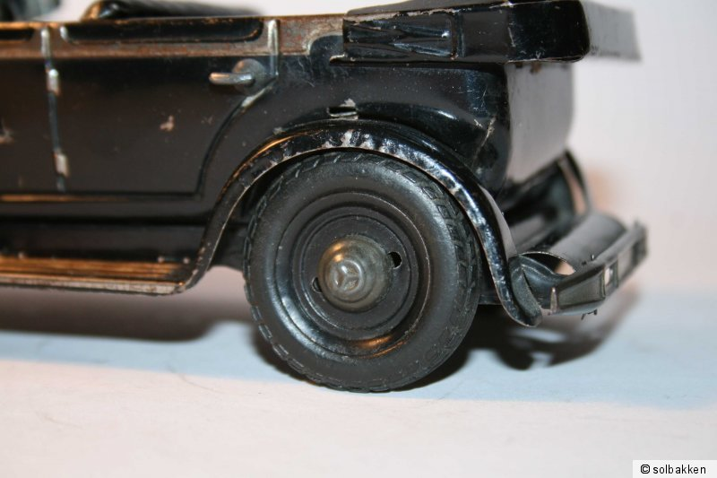 Lenksäule für Tippco Mercedes Führerwagen Nr 934