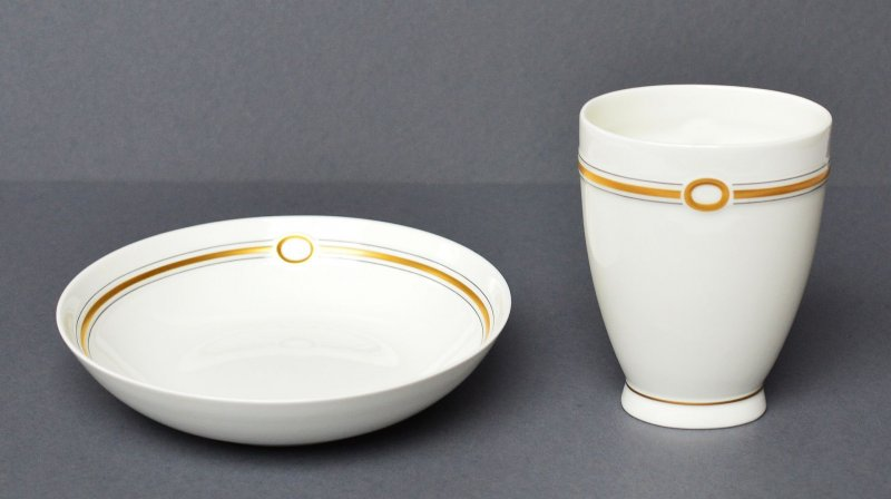 1 vase und 1 schale heinrich villeroy boch v b paloma picasso bijou bone china ebay. Black Bedroom Furniture Sets. Home Design Ideas