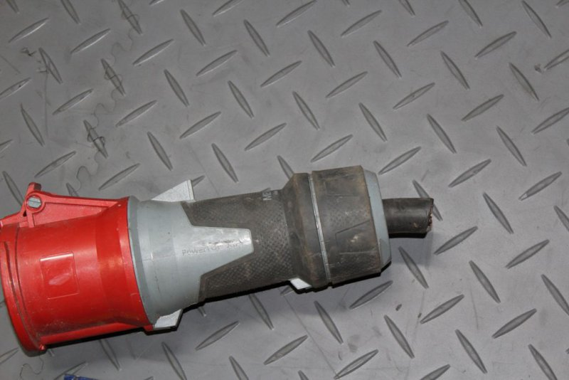 Mennekes 13212 Stecker Kunststoff Kraftstrom 63A Kupplung Drehstrom