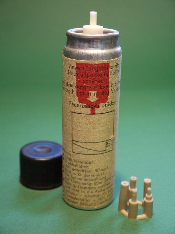DDR Füllfix Feuerzeuggas Feuerzeug Nachfüllpackung Flüssiggas gefüllt OVP