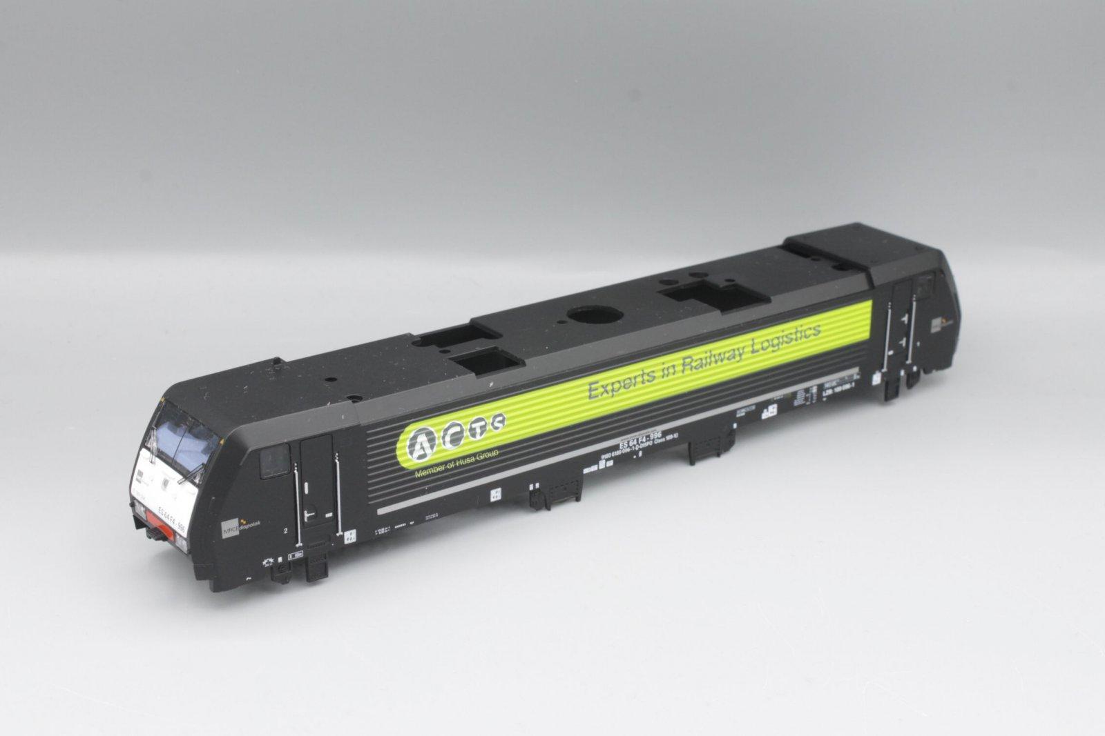 Ersatzteil Piko 189 Gehäuse ACTS schwarz MRCE Dispolok